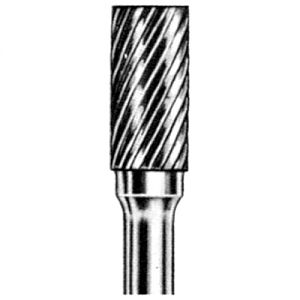 Carbide Bur - Cylindrical Shape on 1/4'' dia. Shank|escape