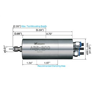 NSK Air Bearing Spindle - 80,000 rpm|escape