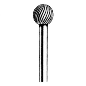 Extended Shank Carbide Bur - Ball Shape |escape