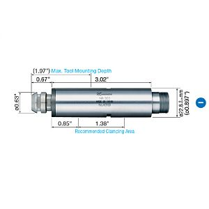 NSK Nakanishi NR303 Spindle — 30,000rpm|escape