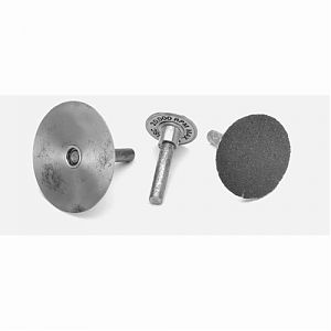 Rigid Abrasive PSA Disc Mandrels|escape